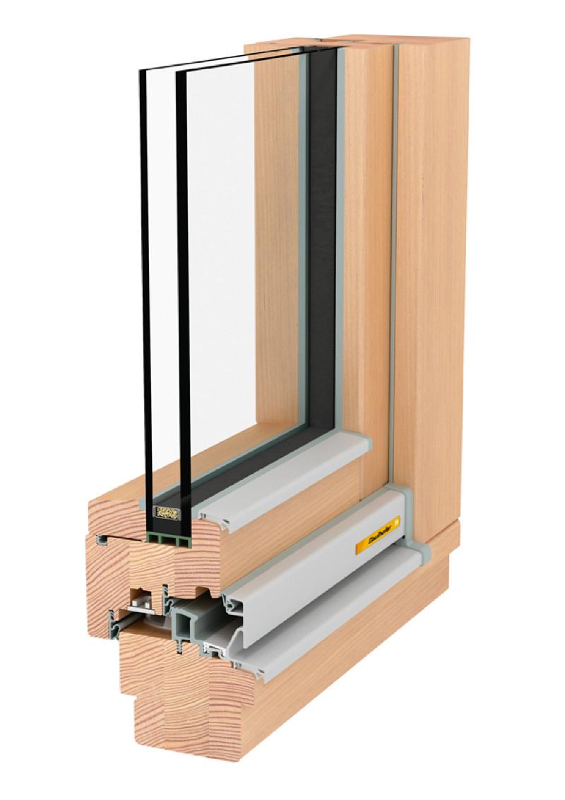 Produkte Fenster Holz Natureline 78 Gaulhofer
